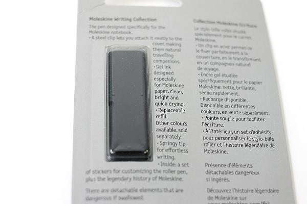Moleskine Classic Roller Pen - 0.5 mm - Matte Black Body - Black Gel Ink - MOLESKINE 978-88-6732-444-6