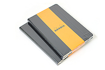 "Rhodia Webnotebook - 5.5"" X 8.25"" - 96 Sheets - 5 mm Dot Grid - Black - Bundle of 2 - RHODIA 118769 BUNDLE"