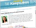 Creating Keepsakes blog article screenshot