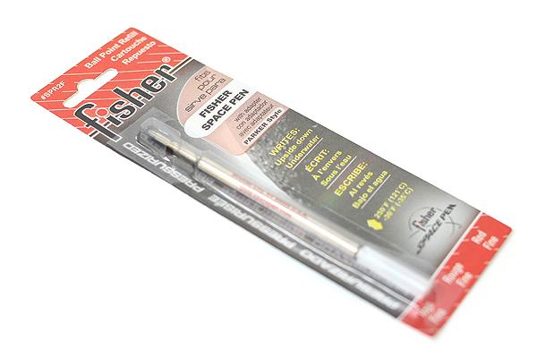 Fisher Space Pen PR Series Pressurized Ballpoint Pen Refill - Fine Point - Red - FISHER SPACE PEN SPR2F
