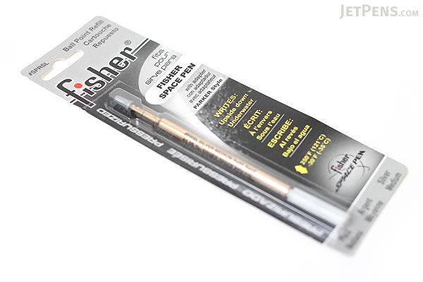 Fisher Space Pen PR Series Pressurized Ballpoint Pen Refill - Medium Point - Silver - FISHER SPACE PEN SPRSL