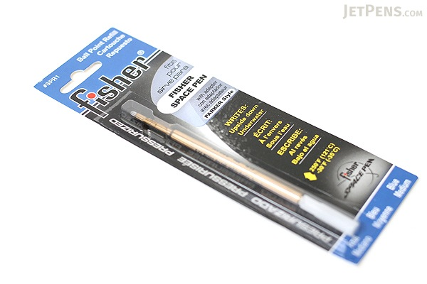Fisher Space Pen PR Series Pressurized Ballpoint Pen Refill - Medium Point - Blue - FISHER SPACE PEN SPR1