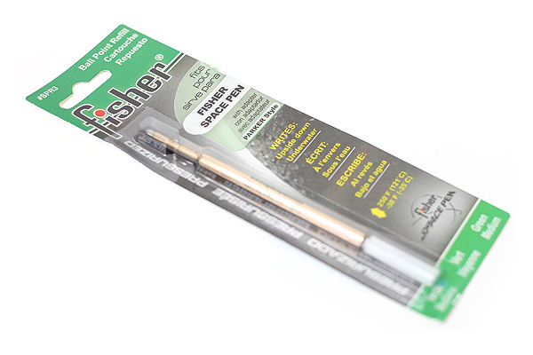 Fisher Space Pen PR Series Pressurized Ballpoint Pen Refill - Medium Point - Green - FISHER SPACE PEN SPR3