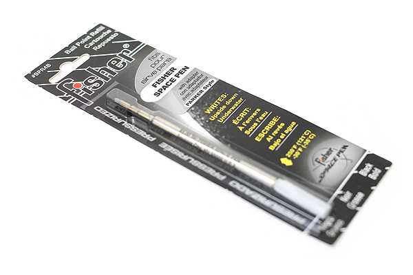 Fisher Space Pen PR Series Pressurized Ballpoint Pen Refill - Broad Point - Black - FISHER SPACE PEN SPR4B
