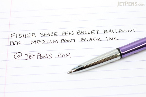 Fisher Space Pen Bullet Ballpoint Pen - Medium Point - Purple Passion Body - FISHER SPACE PEN 400PP