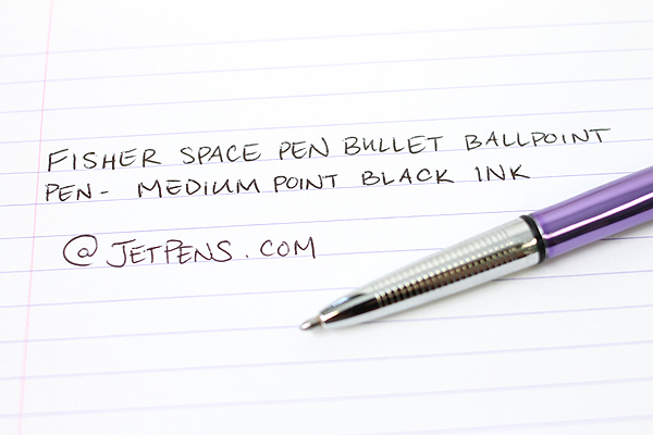 Fisher Space Pen Bullet Ballpoint Pen - Medium Point - Purple Passion Body - FISHER SPACE PEN 400PP
