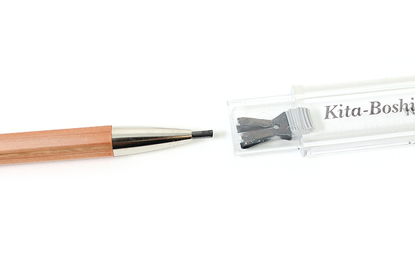 Kitaboshi Lead Holder - 2 mm + 2 mm Pencil Lead Sharpener Set - KITABOSHI OTP-680NST