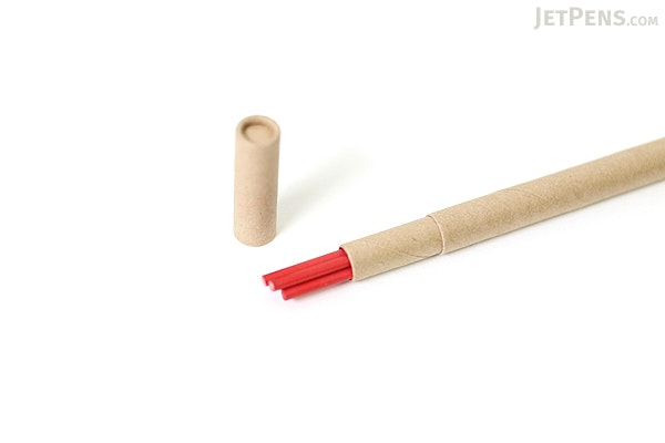 Kitaboshi Lead Holder Refill - 2 mm - Red - Set of 5 - KITABOSHI OTP-200RD
