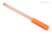 Uni Woodnote Gel Ink Pen - 0.38 mm - Orange Ink - UNI UM28038.4