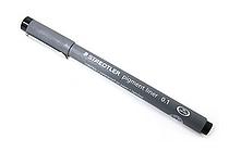 Staedtler Pigment Liners Marker Pen - 0.1 mm - Black - STAEDTLER 308 01-9 02