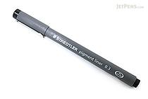 Staedtler Pigment Liners Marker Pen - 0.3 mm - Black - STAEDTLER 308 03-9 02