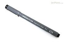 Staedtler Pigment Liners Marker Pen - 0.5 mm - Black - STAEDTLER 308 05-9 02