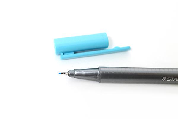 Staedtler Triplus Fineliner Pen - 0.3 mm - Aqua Blue - STAEDTLER 334-34