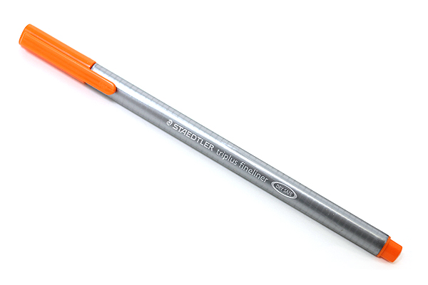Staedtler Triplus Fineliner Pen - 0.3 mm - Orange - STAEDTLER 334-4
