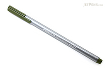 Staedtler Triplus Fineliner Pen - 0.3 mm - Olive Green - STAEDTLER 334-57
