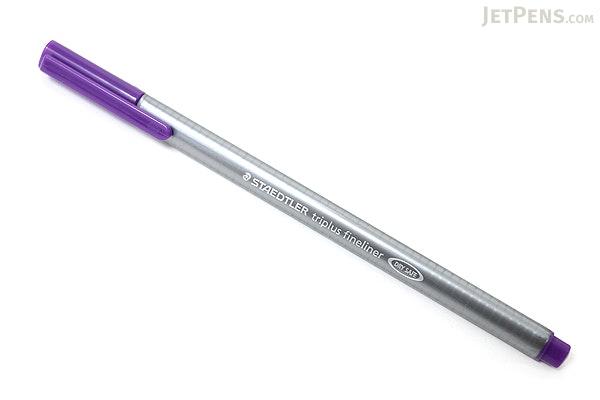 Staedtler Triplus Fineliner Pen - 0.3 mm - Violet - STAEDTLER 334-6