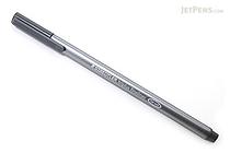 Staedtler Triplus Fineliner Pen - 0.3 mm - Gray - STAEDTLER 334-8