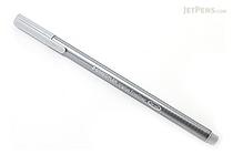 Staedtler Triplus Fineliner Pen - 0.3 mm - Silver Gray - STAEDTLER 334-82
