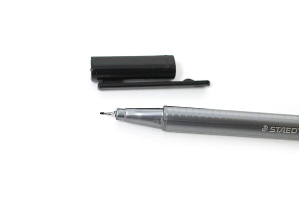 Staedtler Triplus Fineliner Pen - 0.3 mm - Black - STAEDTLER 334-9