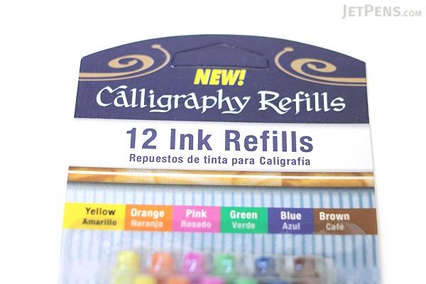 Staedtler Calligraphy Refills - 6 Colors - 12 Cartridges - STAEDTLER 899 RASBK12