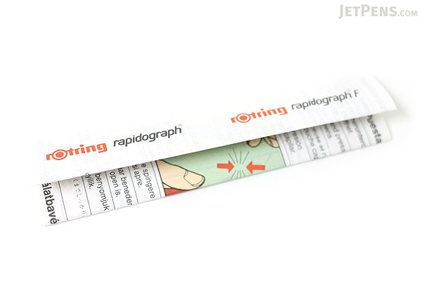 Rotring Rapidograph Pen - 0.25 mm - Black Ink - ROTRING 1903237