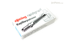 Rotring Rapidograph Refill - Blue - 3 Cartridges - ROTRING 590509