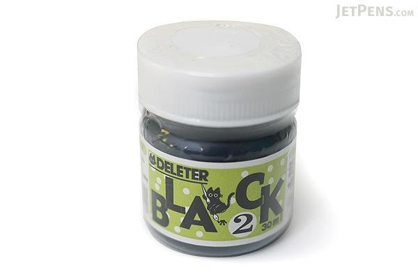 Deleter Black 2 Manga Ink - Erasing-Safe - 30 ml Bottle - DELETER 341-0003
