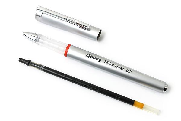 Rotring Tikky Liner Gel Pen - 0.7 mm - Black Ink - ROTRING SO919090