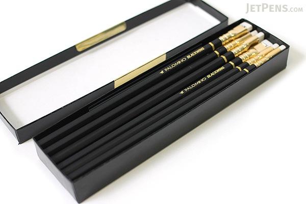 Palomino Blackwing Pencil - Pack of 12 in Black Gift Box - PALOMINO 103087