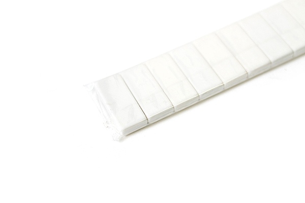 Palomino Blackwing Pencil Replacement Eraser - White - Pack of 10 - PALOMINO 103199