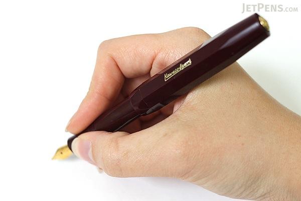 Kaweco Classic Sport Fountain Pen - Bordeaux - Extra Fine Nib - KAWECO 10000482