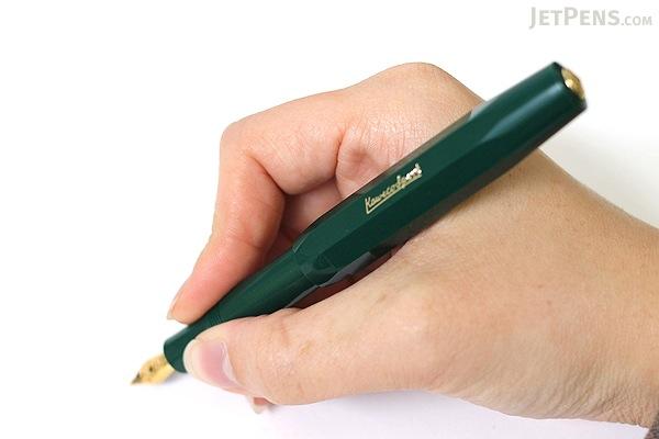 Kaweco Classic Sport Fountain Pen - Green  - Extra Fine Nib - KAWECO 10000487