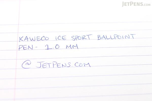 Kaweco Ice Sport Ballpoint Pen - 1.0 mm - Yellow Body - KAWECO 10000579