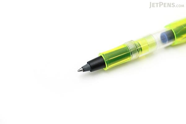Kaweco Ice Sport Ink Cartridge Roller Ball Pen - Medium Point - Yellow Body - KAWECO 10000583