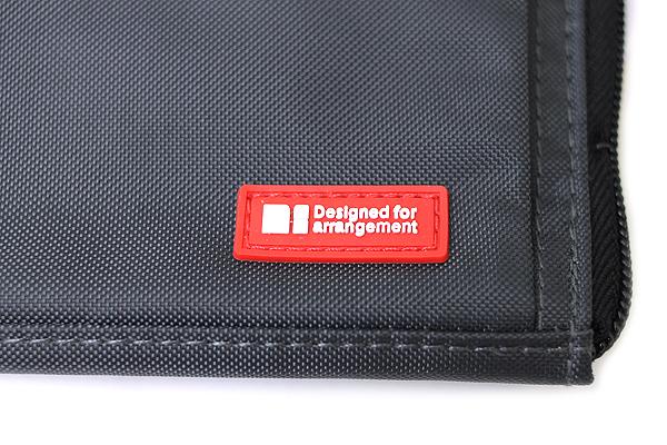 Lihit Lab Teffa Bag in Bag - A4 - Black - LIHIT LAB A-7554-24