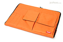 Lihit Lab Teffa Bag in Bag - A4 - Orange - LIHIT LAB A-7554-4