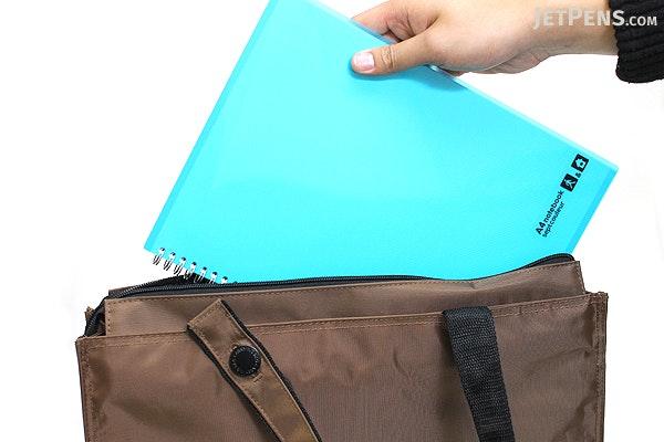 Lihit Lab Teffa 2 Way Carrying Bag - Size B4 - Brown - LIHIT LAB A-7651-9