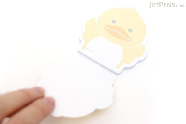 """Adhesive Memo Notes - Animal Series - Duck - 2.8"""" X 2.9"""" - 50 sheets  - MZD-04"""