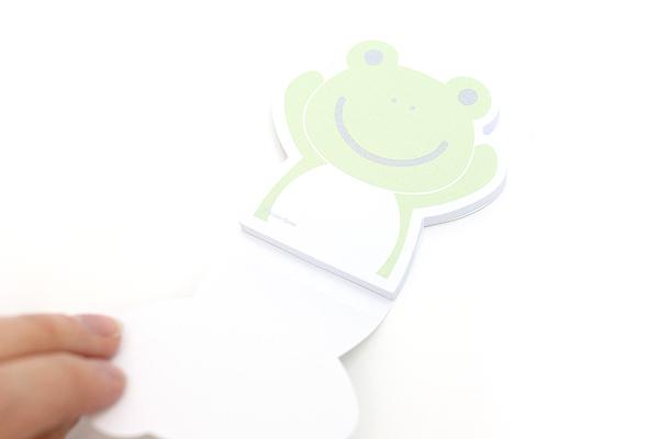 """Adhesive Memo Notes - Animal Series - Frog - 2.8"""" X 2.9"""" - 50 sheets  - MZD-03"""