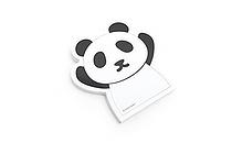 """Adhesive Memo Notes - Animal Series - Panda - 2.8"""" X 2.9"""" - 50 sheets  - MZD-01"""