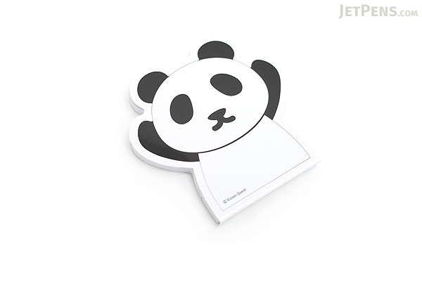 "Adhesive Memo Notes - Animal Series - Panda - 2.8"" X 2.9"" - 50 sheets  - MZD-01"