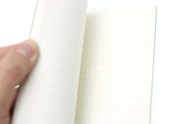 """Pelle Linen Paper Notebook Insert - Small (3.4"""" X 4.9"""") - Lined - 64 Pages - PELLE LN S L"""