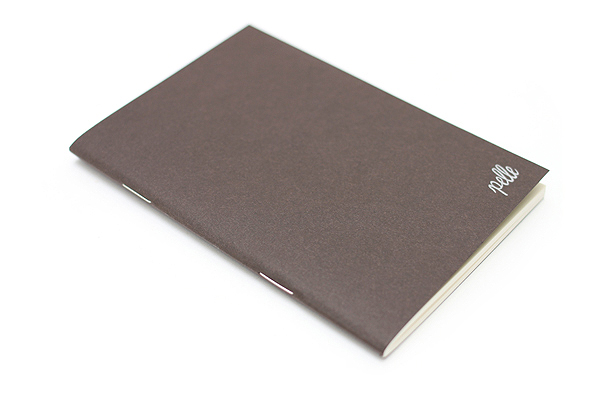 "Pelle Linen Paper Notebook Insert - Small (3.4"" X 4.9"") - Plain - 64 Pages - PELLE LN S P"