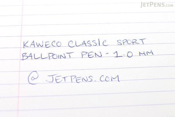 Kaweco Classic Sport Ballpoint Pen - 1.0 mm - Black Body - KAWECO 10000017
