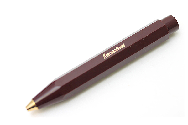 Kaweco Classic Sport Ballpoint Pen - 1.0 mm - Bordeaux Red Body - KAWECO 10000492