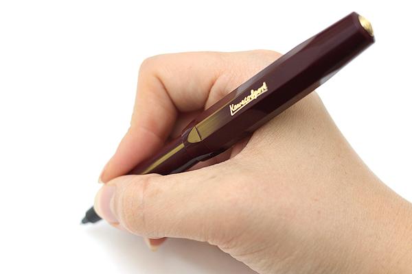Kaweco Classic Sport Ink Cartridge Roller Ball Pen - Medium Point - Bordeaux Red Body - KAWECO 10000494