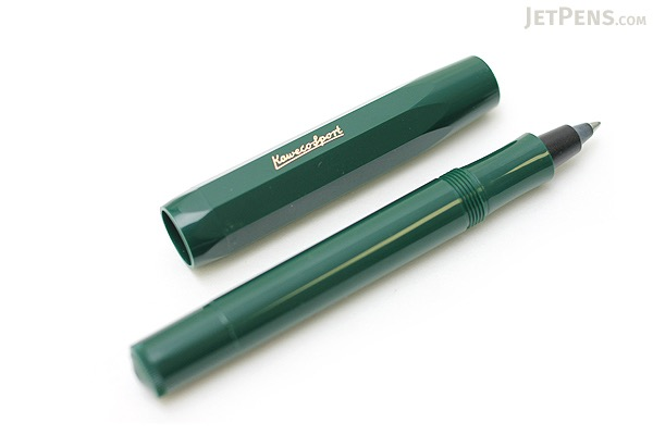 Kaweco Classic Sport Ink Cartridge Roller Ball Pen - Medium Point - Green Body - KAWECO 10000495