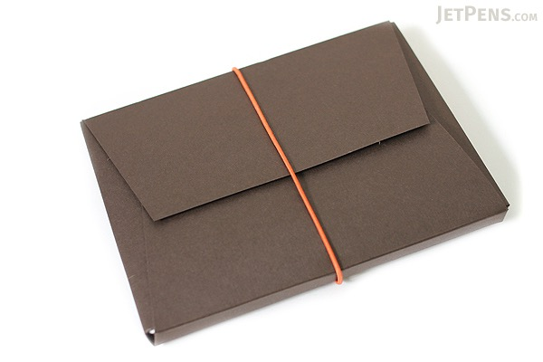 "Pelle Leather Journal - Brown - Small + 1 Plain Linen Paper Notebook (3.4"" X 4.9"") Insert - 64 Pages - PELLE LJ S"