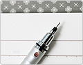 Kuru Toga Auto Lead Rotation Mechanical Pencil - Roulette Series - Silver Body