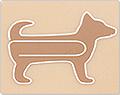 Midori Dog-Shaped Paper Clips